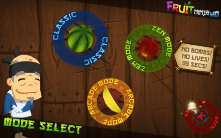 Fruit Ninja HD на компьютер