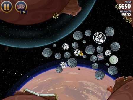 Angry Birds Star Wars для компьютера