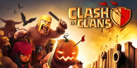Clash of clans (Клеш оф кленс) на андроид