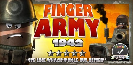 Finger Army 1942 на андроид